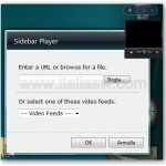 Sidebar Player - Come si Presenta