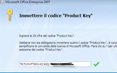 microsoft office 2007 enterprise product keys