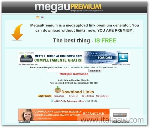 da megaupload premium