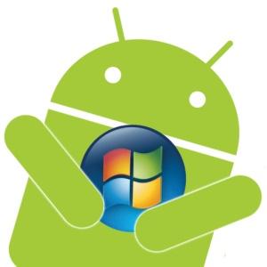 logo android windows