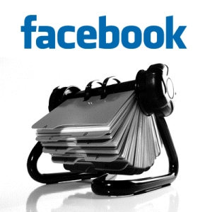 logo facebook contatti