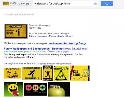Google ricerca tramite immagini 02